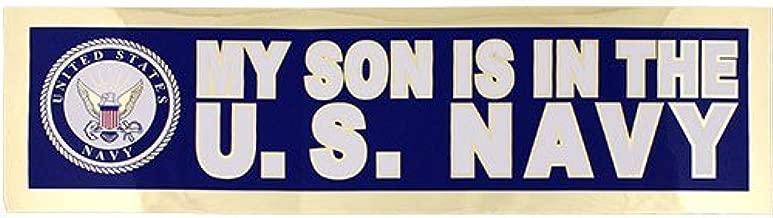 My Son Is In The U.S. Navy Metallic 11.5