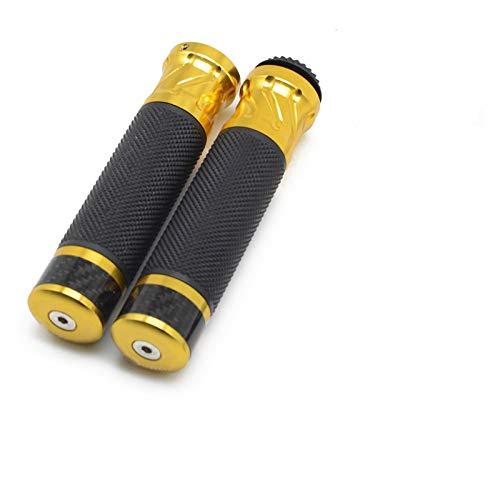 Empuñaduras de Moto Manillar Taza De Aceite De Depósito De Líquido De Frenos CNC Universal para Hon-da para Hornet Crf 250 Crf 450 Cb1000r 2000 Cbr600rr 2006 CB300X CB500X (Color : Oro)