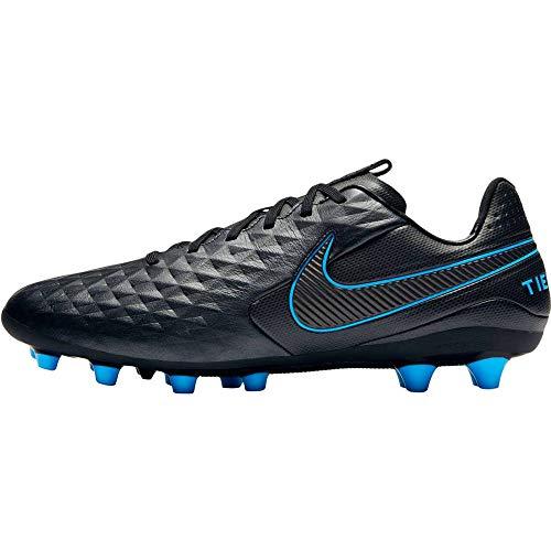 Nike Unisex-Erwachsene Tiempo Legend 8 Ag-pro Fußballschuhe, Mehrfarbig (Black/Black-Blue Hero 4), 40 EU