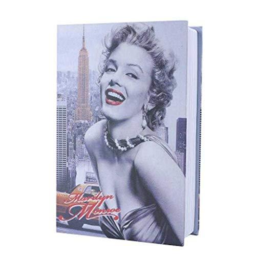 Ann Beuken u veilig stalen sluitvak in boekvorm met echte papierpagina's Hidden Diverssion Book 2 sleutels