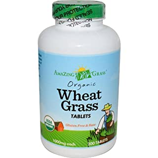 Amazing Grass Organic Wheat Grass - 200 Tablets (B0007ZDFAK) | Amazon price tracker / tracking, Amazon price history charts, Amazon price watches, Amazon price drop alerts