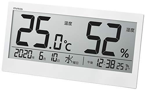 MAG デジタル温度湿度計 ビッグメーター TH-107