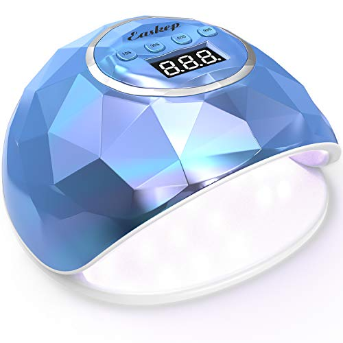 86W Fast Nail Dryer, Easkep UV LED Light Gel Nail Polish Curing Lamp for Professional Salon with 4 Timer Setting...