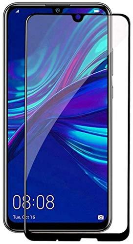 Compatible para Huawei P Smart (2019) / P Smart Plus 2019 Pot-LX3 Pot-LX1 POT-AL00 película Protectoras de Cristal Templado Pantalla 9H Full Touch Screen antigolpes Negro