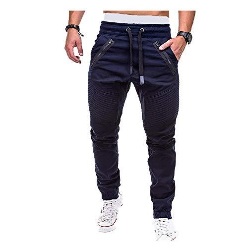 N\P Los Hombres Casual Corredores Pantalones Primavera Otoño Cargo Pantalones Hombres Entrenamiento Slim Fit Pantalones Hombres Casual Algodón Pantalones Masculinos