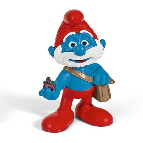 Schleich - Papa Smurf with Bag