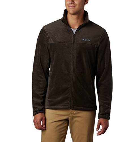 Columbia Men's Steens Mountain Full Zip 2.0 Soft Fleece Jacket, Buffalo, Medium