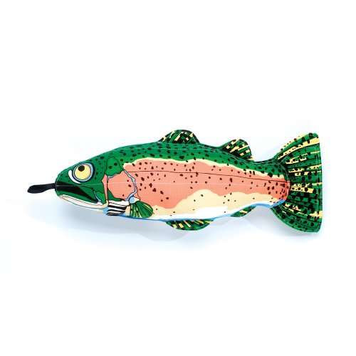 Fat Cat Incredible Strapping Yankers Dog Toy, Trout