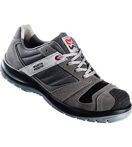 WÜRTH MODYF Sicherheitsschuhe S3 SRC Stretch X grau: Der multifunktionale Schuh ist in Größe 45 erhältlich. Der zertifizierte Arbeitsschuh ist ideal für Lange Arbeitsalltage.