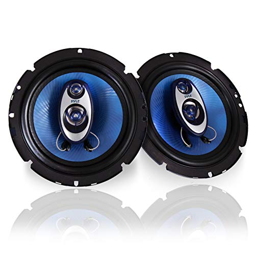 6.5' Three-Way Sound Speaker System - 180 W RMS/360W Power Handling w/ 4 Ohm Impedance and...