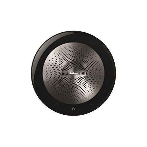 Jabra Speak 710 MS Freisprecheinrichtung Universal Schwarz, Silber USB/Bluetooth - Freisprecheinrichtungen (Universal, Schwarz, Silber, Portable, 30 m, 70 dB, 1 m)