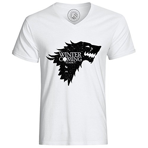 T-Shirt Game of Thrones House Stark Winter is Coming Wolf