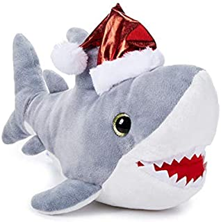 shark in santa hat