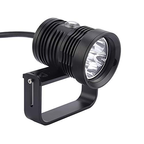 sous-Marin LED, Alliage d'aluminium 6L2 Rouge Bleu LED Torche de plongée Lampe de Poche Photographie lumière de Remplissage lumières de sécurité de plongée étanche