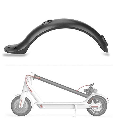 Yosoo Health Gear Skoter stänkskydd, hållbar plast elektrisk scooter bakre stänkskydd stöd för M365 elscooter svart röd valfritt (svart)