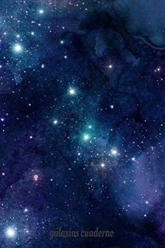 galaxias cuaderno: cuaderno galaxias _Cover Galaxia_Libreta Galaxia_110 Páginas