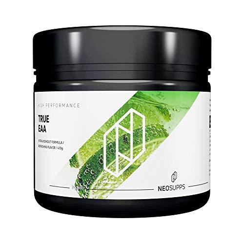 Neosupps True EAA Mojito  Aminosäure Getränk   Perfekte Löslichkeit   Premium Qualität   Aspartame Free   Muskelaufbau oder Abnehmen und Diät, Geschmack:Mojito