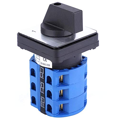 Interruptor de cambio universal 690V 25A BERM BEM28-25/3 D0724 Selector de 3 posiciones Interruptor giratorio de leva