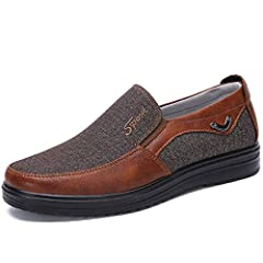 CANVAS FABRIC:The slip on shoes for men are made of high-quality canvas fabric, with excellent air permeability to bring you comfortable foot feels and elegant appearance, which are wear-resistant and kick-resistant, adding the sense of texture and p...