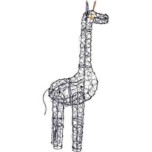 KOH DECO Girafe Duti en métal Gris 50 cm
