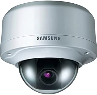 Samsung SCV-3080 - Cámara de vigilancia (Interior y Exterior Alámbrico Almohadilla Techo Marfil Aluminio De plástico)