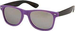 Alsino Hoogwaardige retro vintage zonnebril met UV 400-bescherming, kunststof montuur in verschillende kleuren, voor heren...