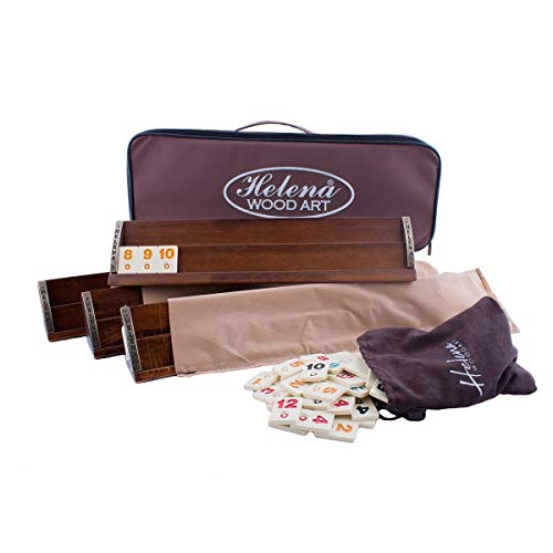 VIP Straight Rummy Game Set - Wooden Rummy Game Set