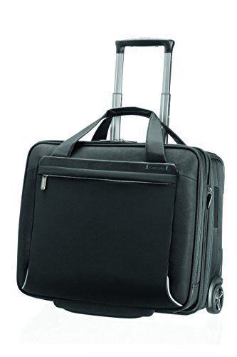 "Samsonite Trolley Spectrolite Rolling Tote 17.3"" Exp 28 liters Nero (Black) 55696-1041"
