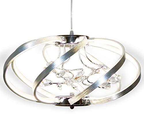 LED plafoniera lampadario luce soggiorno lucentezza salotto bianco neutro forma di palla moderno Lewima Martinic