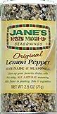 Jane's Krazy Original Lemon Pepper Marinade & Seasoning 2.5 oz (Pack of 2)