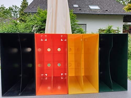 Vinyl-Aufbewahrungskasten für die Schallplattensammlung LP-Box gebraucht - diverse Farben