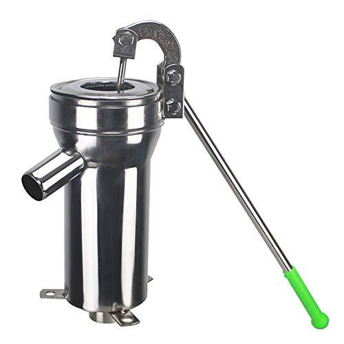 ZKORN Erhöhen Sie Die Wasserpumpe, Altmodisch Heimgebrauch Gusseisen Wasserpumpe Pumpe Handkurbel Wasserpumpe Wasserpresse Handpresse Nun Erdungspumpe Garten Im Freien Wasserspender Nun