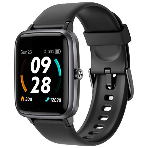 Vigorun Smart Watch,Built-In GPS Fitness Tracker with All-Day Heart Rate and Activity Tracking Sleep Monitoring, Full Touch Screen Fitness Watch,14 Sports Modes,5ATM Waterproof for Women, Men