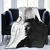 FUNNYFUN Jensen Ackles Blanket Lamb Blanket 3D Print Plush Blanket Bedding Decor Blanket for Living Room Bedroom Dorm Decor (3Sizes)