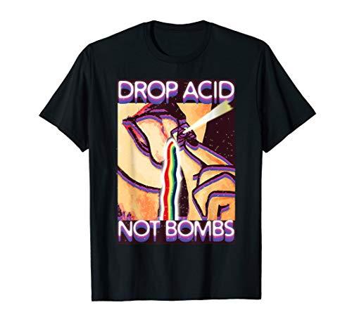 Drop Acid Not Boms T-Shirt LSD Techno