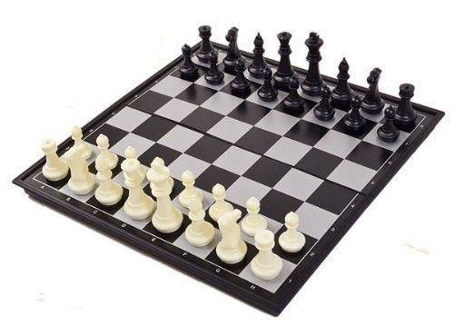 Ajedrez magnético, Juego de ajedrez de Rompecabezas, Plegable y fácil de Llevar, Ideal para niños y Adultos, Juegos al Aire Libre o Regalos: Amazon.es: Juguetes y juegos