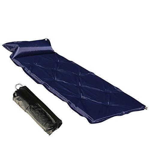 RongDuosi Automatisch Opblaasbaar Kussen Camping Outdoor Mat Verdikt Opvouwbare Slaapmat Eenpersoons Opblaasbaar Bed Met Hoofdsteun Outdoor Uitrusting Zwembed