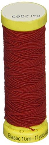 Gutermann Thread Elastic 11 Yards-Red