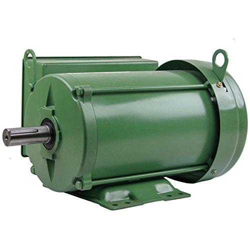 5 HP Farm Duty Single Phase Electric Motor 1800 RPM 184T Frame TEFC 208/230 Volt