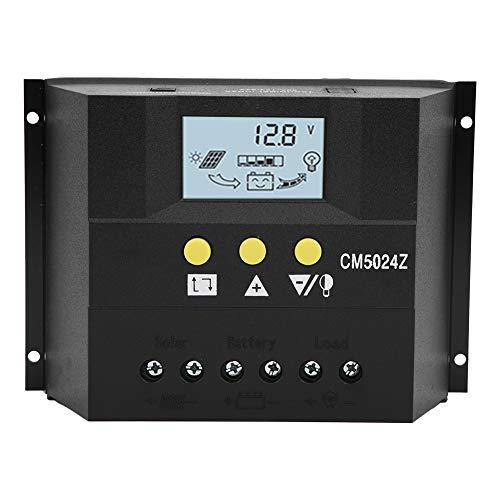 Cargador Controlador Regulador de batería Cargador Rendimiento estable Durable en uso Protección contra cortocircuitos Trabajo para carga solar