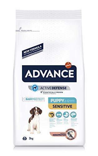 Advance Sensitive Puppy - Pienso para Cachorros con Sensibilidades Digestivas y en la Piel - 3Kg