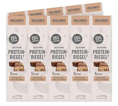INSUMED BESTFORM Protein-Riegel 10x2
