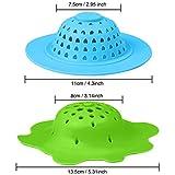 Ruisita 6 Stück Acryl Ausgießer Sieb Acryl Kunststoff Silikon Sieb Blume Abfluss Korb für Farbe Ausgießen Zubehör (Farbe Set B) - 3