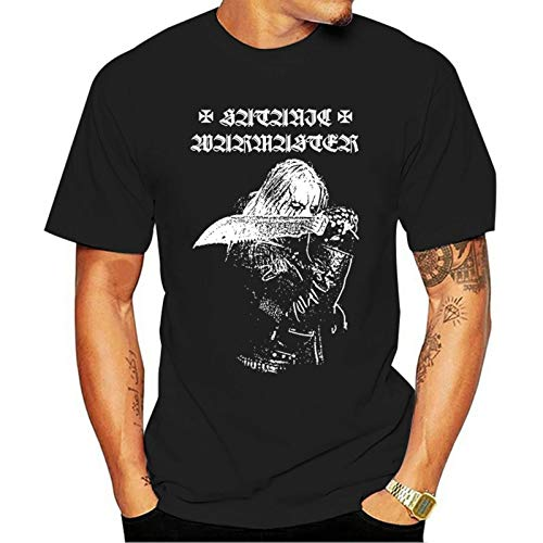 Phggdshfdf Satanic WARMASTER Werewolf T-Shirt Finnish Black Metal nargaroth goatmoon orlok