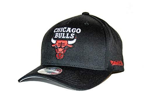 Mitchell & Ness NBA Chicago Bulls - Gorra de béisbol, Color Negro