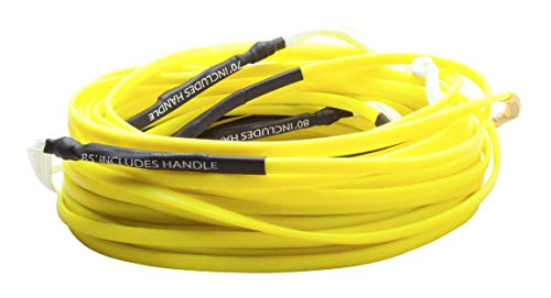 Hyperlite Silicone Flat Line Wakeboard Rope Sz 80ft Yellow