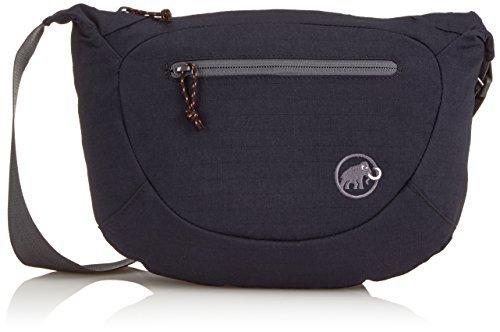 Mammut Erwachsene Umhängetasche Shoulder Bag Round, Black, 15 x 12 x 10 cm, 4 Liter, 2520-00570-0001-140 by Mammut