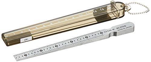 TRUSCO(トラスコ) 管用テ-パ-ゲ-ジ厚さ用測定範囲:0.4~6.0 TG-270B