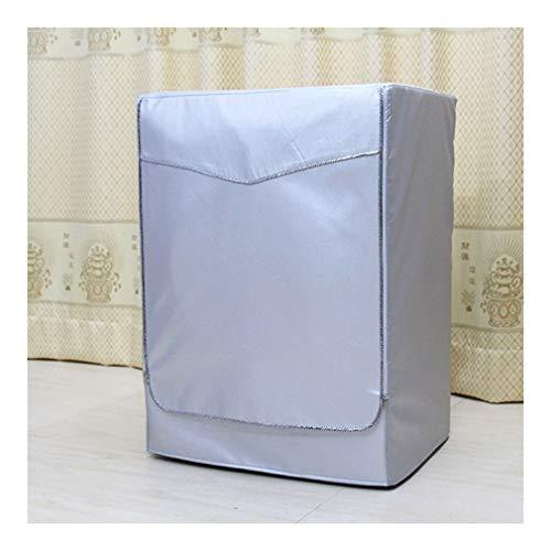 Cubierta Polvo Refrigerador Funda impermeable protector solar polvo cubierta a prueba de lavado de la cubierta de la máquina lavadora protección contra el polvo de carga frontal Lavar Secadora S-L Uni