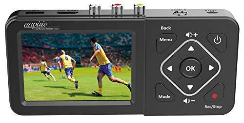 auvisio VHS digitalisieren: Video-Rekorder mit Analog-Eingängen, Farb-Display, USB, SD, 60 B./Sek. (analog Video Recorder)